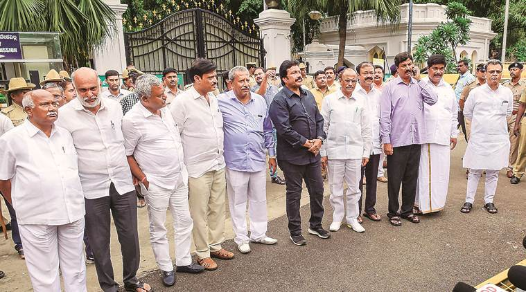 Karnataka Speaker Rejected